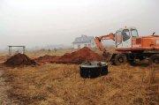 Budowa kanalizacji wSkibach