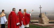 Erygowanie ipoświęcenie Drogi Krzyżowej wSanktuarium św. Maksymiliana wWolicy-Tokarni