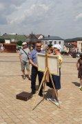 Plener Malarski na Rynku wChęcinach
