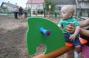 Maluchy zMałej Tokarni mają już plac zabaw