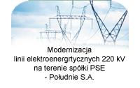Modernizacja linii 220kV